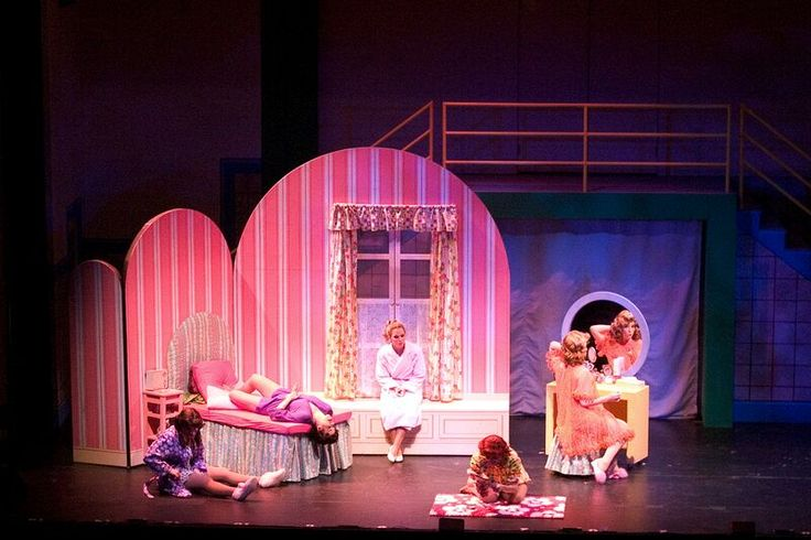 17 best images about grease set design on pinterest for Broadway bedroom ideas