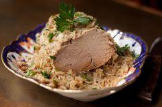 Slow-Cooker Pork & Sauerkraut