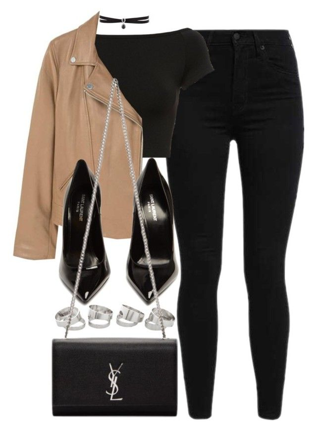 """""""Sin título #14569"""" by vany-alvarado ❤ liked on Polyvore featuring Levi's, Helmut Lang, MANGO, Yves Saint Laurent and Fallon"""