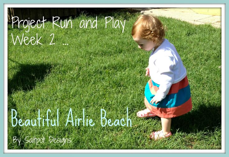 A little bit of this, a little bit of that...: Project Run and Play Week 2...