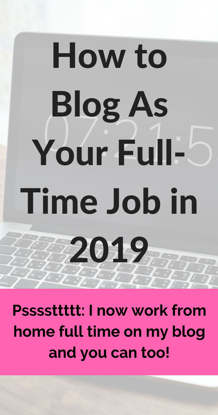 How to Blog As Your Full Time Job in 2019 – Jasmine | Blogging & Business Tips + Manifestation