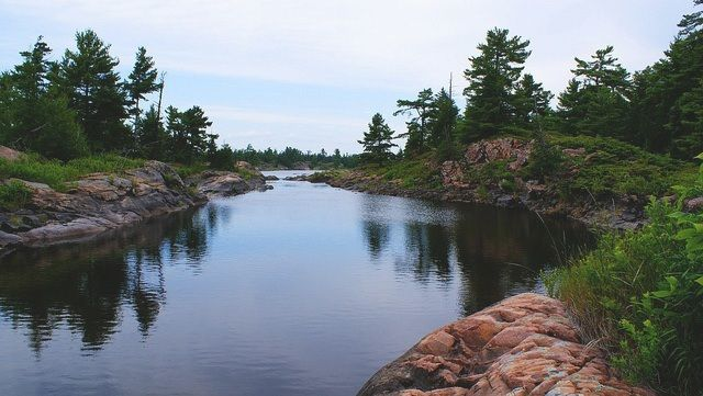 """""""The French River in Ontario - Original Post found on hikebiketravel.com     #Paddling #FrenchRiver #AmazingPlaces"""