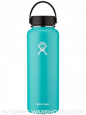 Hydro Flask 40oz Wide Mouth Water Bottle I only use metal water bottles. Just say no to plastic. These are great.