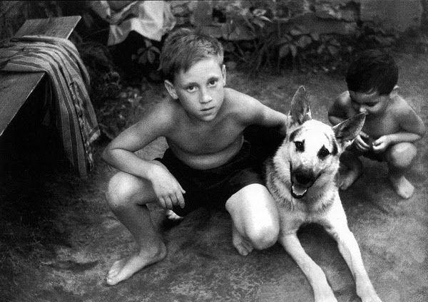 Володя Высоцкий. 1950г.