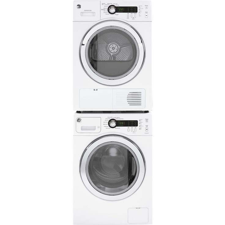 ge compact stackable washer and dryer set overstock shopping big discounts on ge washers