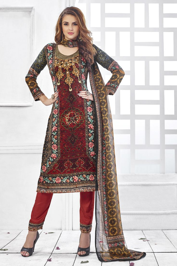 ‪#‎Newarrival‬ Maroon Soft Velvet Straight Digital Printed with Maroon Bottom Salwar Suit at Lalgulal.com ‪#‎Price‬ :- 2,330/- inr. To ‪#‎Order‬ :- http://goo.gl/735u5h To Order you Call or ‪#‎Whatsapp‬ us on +91-95121-50402 COD & Free Shipping Available only in India.