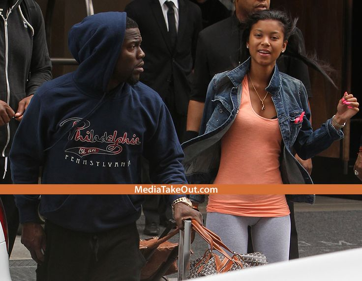 Kevin Hart's GIRLFRIEND Looks A Whole Lot Like That KARRUECHE CHICK . . . Y'all Think Them Two Girls Are KIN????? - MediaTakeOut.com™ 2013