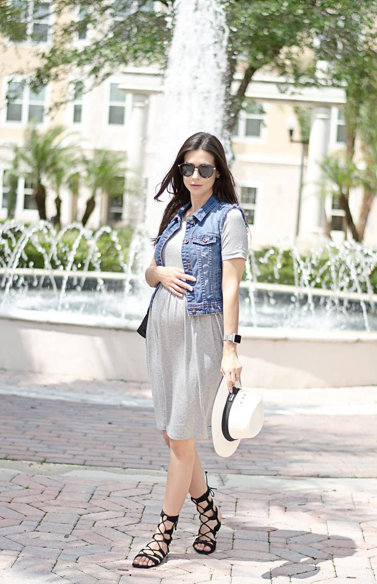 33 best stylish maternity clothes images on pinterest pregnancy casual day dress from envie de fraise grey jersey dress for spring or summer with ombrellifo Choice Image