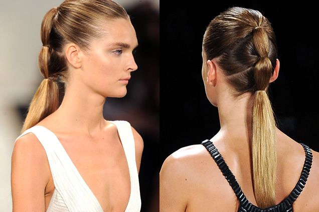 2013 Runway Three-in-One Ponytail