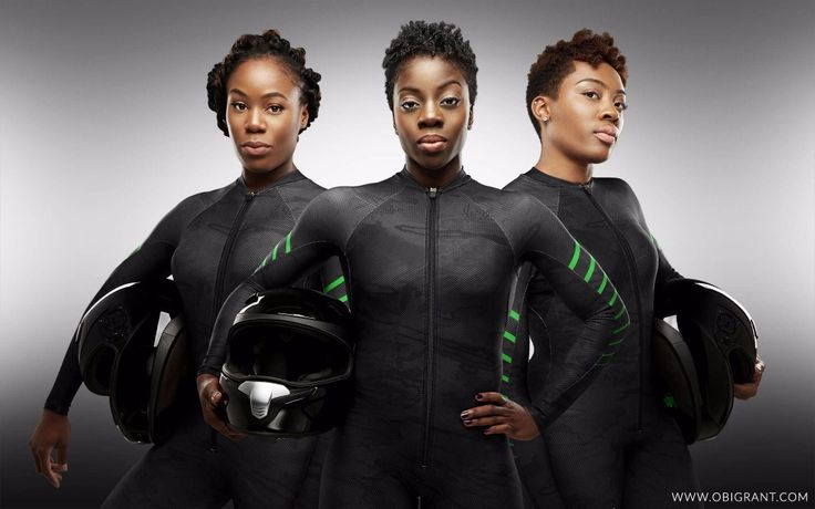 Nigeria's First Women's Bobsled Team Is Hoping To Bring Some Black Girl Magic To The 2018 Winter Olympics