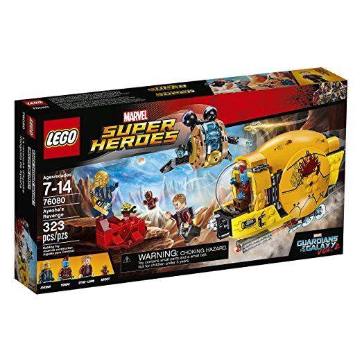 LEGO Marvel Super Heroes Ayesha's Revenge 76080 Superhero Toy