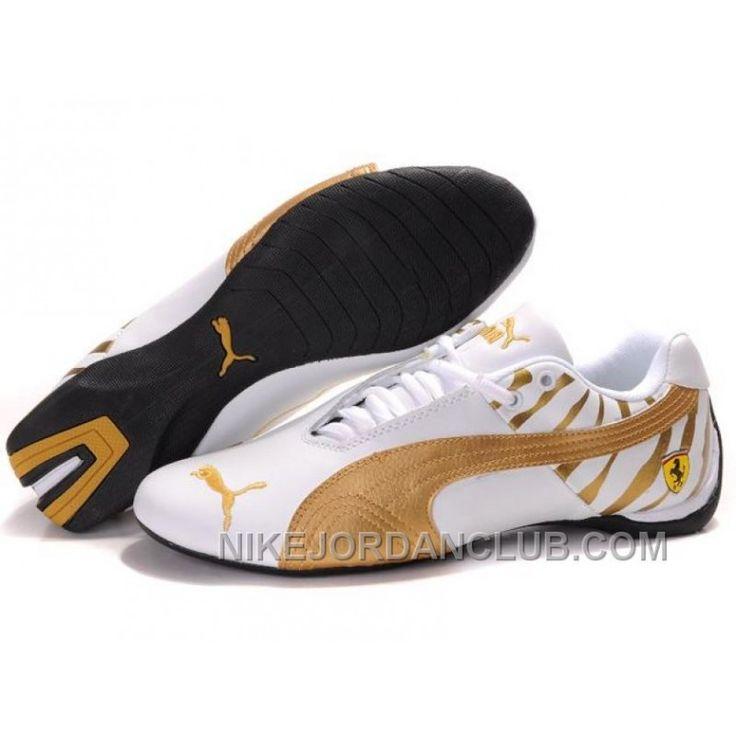 Mens Puma Future Cat Ferrari Zebra White Gold Free Shipping, Price: $88.00 - Nike Shoes for Men, Women & Kids, Air Jordan Shoes | NikeJordanClub.com