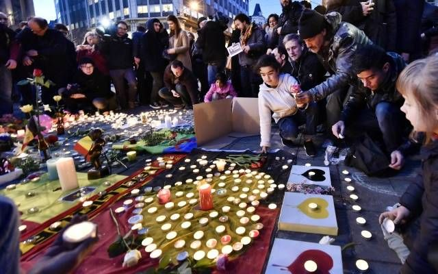 Brussels attack mourning