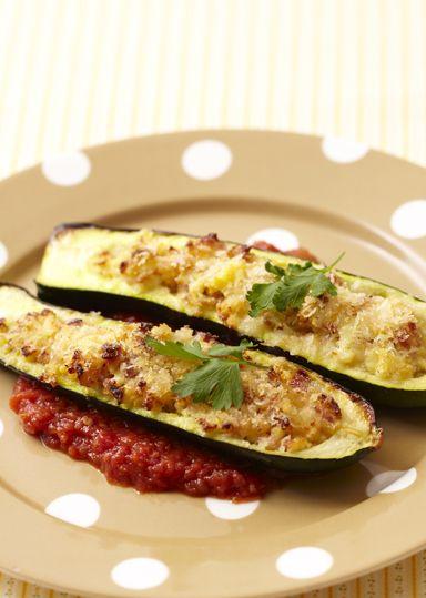 ズッキーニのファルシ のレシピ・作り方 │ABCクッキングスタジオのレシピ | 料理教室・スクールならABCクッキングスタジオ