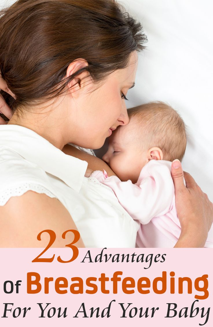 breast feeding advantages and disadvantages Breastfeeding gives your baby the right nutrients and may protect your baby against some illness  extended breast-feeding: what you need to know.
