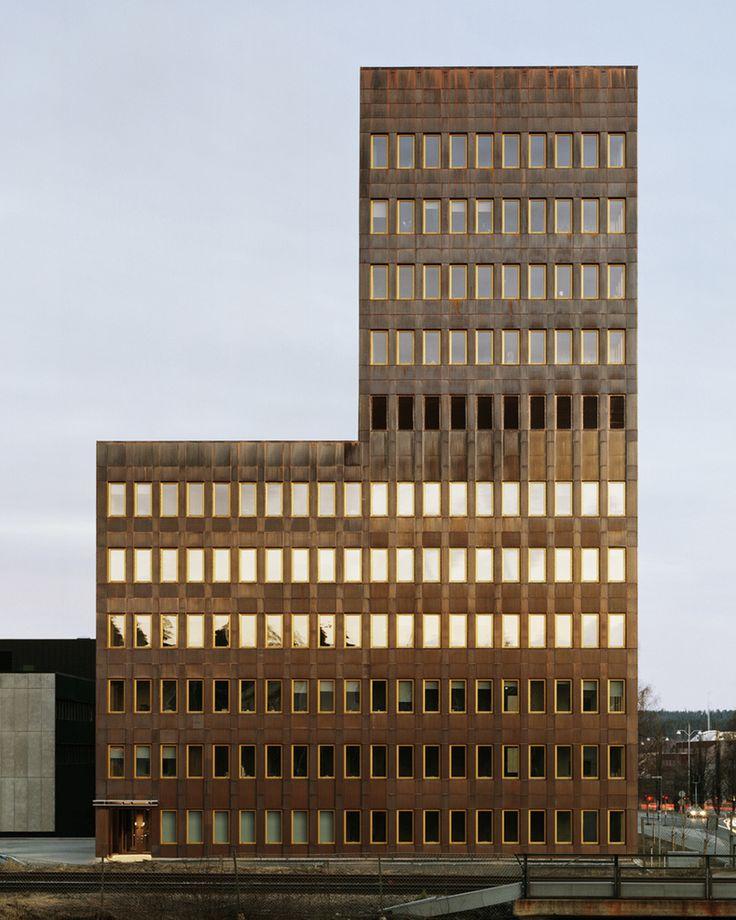 General Architecture - Headquarters for Skekraft,  Skellefteå, Sweden #headquarter #offices