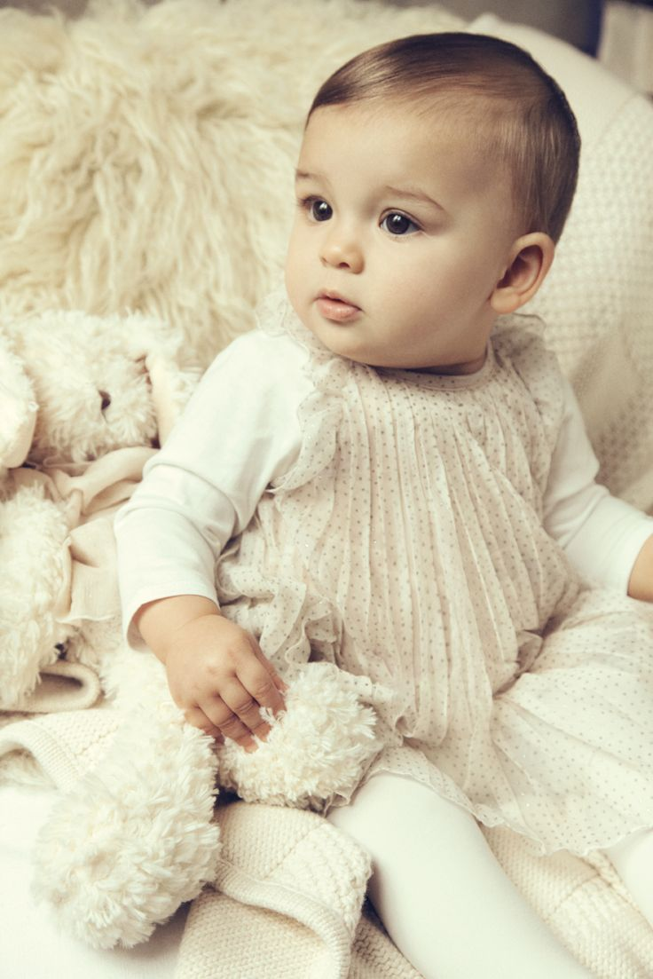 The latest collection of baby girls' clothes, shoes and accessories updated weekly. Comfortable and stylish pieces made with the softest materials for all of their special moments.