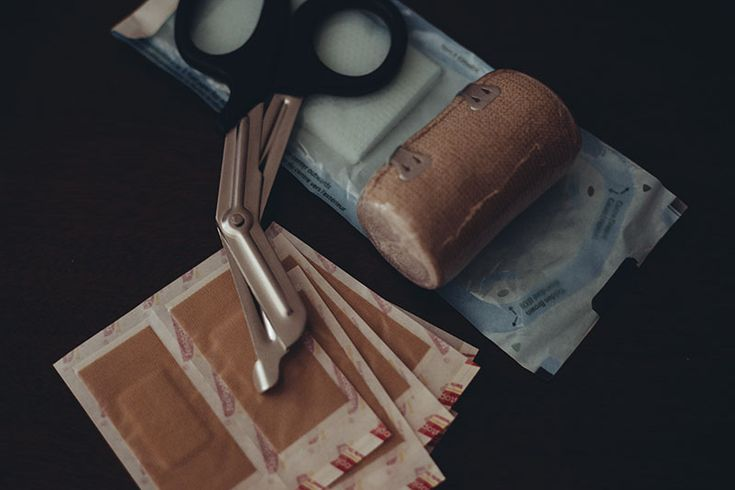 Stitches, Bandages, or Super Glue? good advice on all three