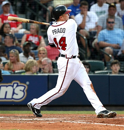 Martin Prado has played amazingly this year! Such a team player.