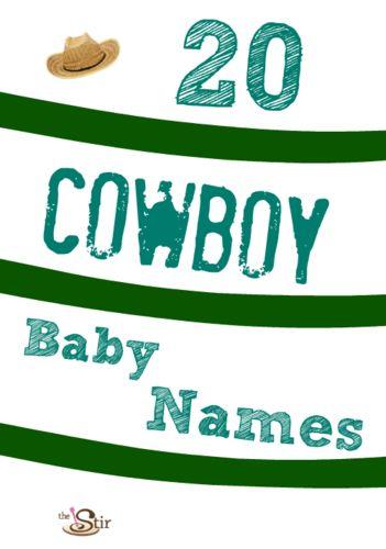 20 Cowboy Baby Names