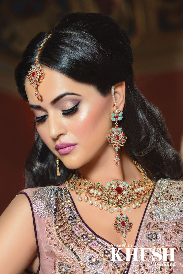 Flawless makeup for the big day by Fatemah Ali Hair & Makeup Artist +44 (0)7850 186 312 www.fatemahali.com Outfit: Dilkash Couture Jewellery: NK Collection