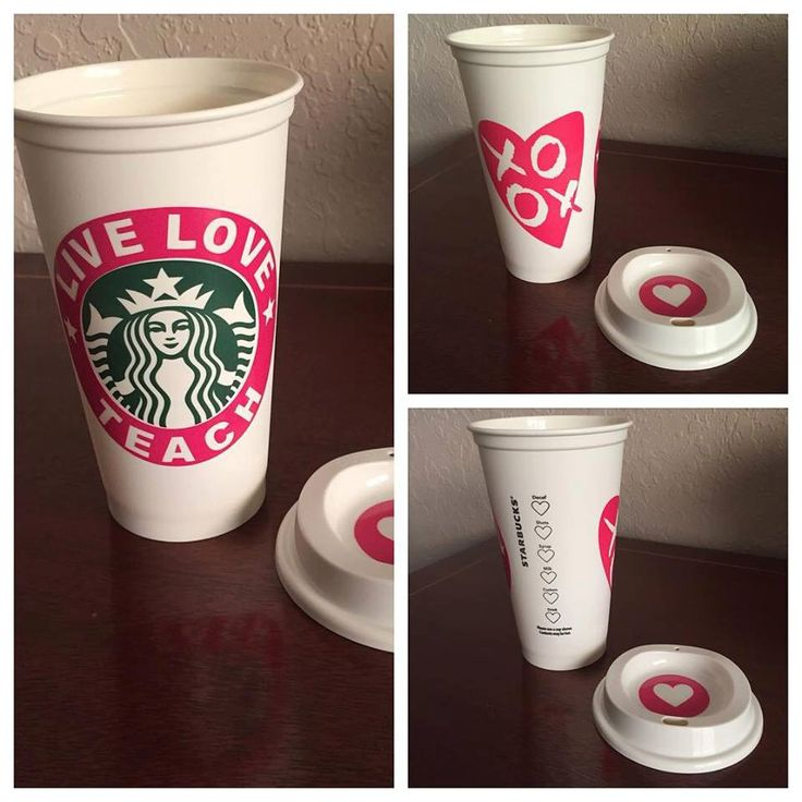 Valentine's Personalized Coffee Cups Personalized Starbucks Tumbler - Custom Starbucks Coffee Cup by bowforbows on Etsy https://www.etsy.com/listing/263409371/valentines-personalized-coffee-cups
