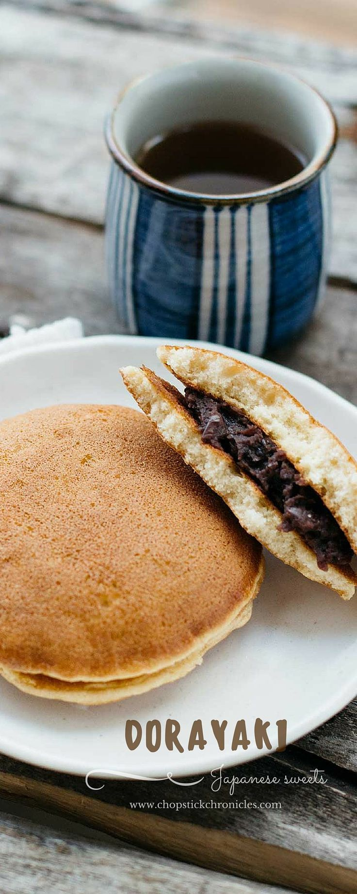 Dorayaki Is A Popular And Cl Ic Japanese Snack Made From Pancakes And Red Bean Paste