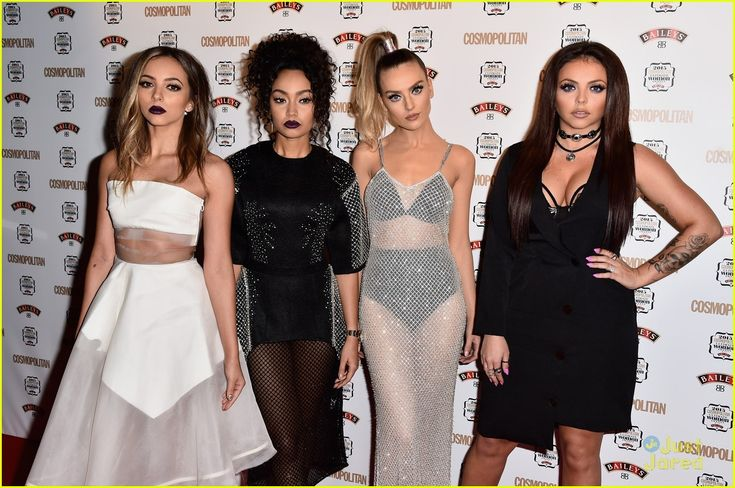 Little Mix Go See-Through For Cosmopolitan's Women Of The Year Awards After Announcing New Tour Dates: Photo #900631. Little Mix go for a group sheer look as they arrive for the 2015 Cosmopolitan Ultimate Women Of The Year Awards held at One Mayfair on Wednesday night (December…