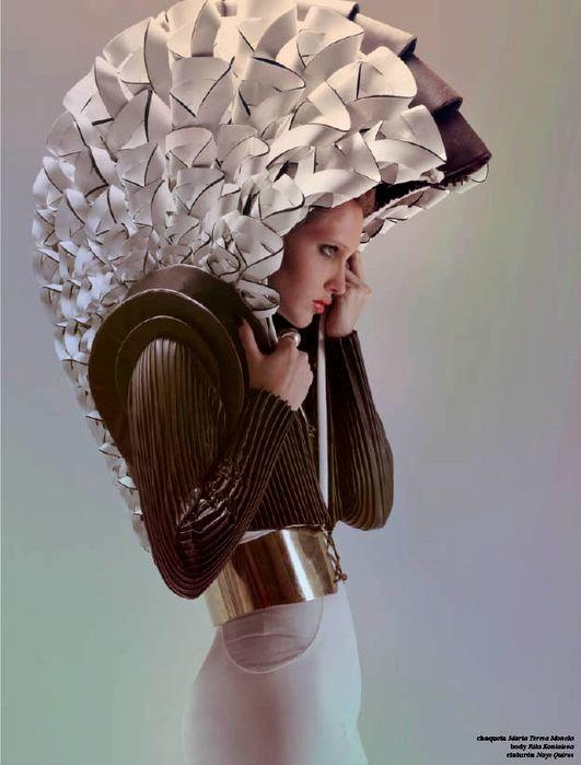 ☼ Cosmic Couture ☽ Celestial Costumes ☼ fashion sculpture