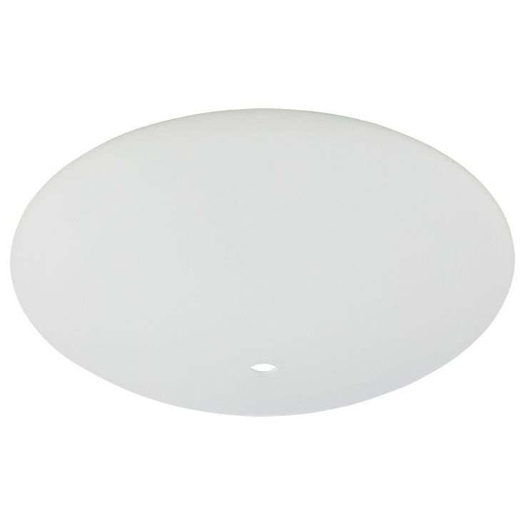 Replacement Glass for Casselberry 52 in. Brushed Nickel Ceiling Fan-G14930 - The Home Depot