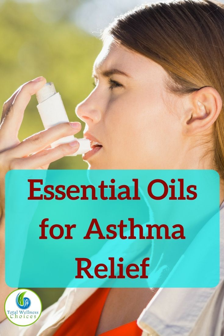 Use these essential oils for asthma to improve your breathing and relieve your asthma symptoms! #aromatherapy #essentialoils #naturalasthmarelief