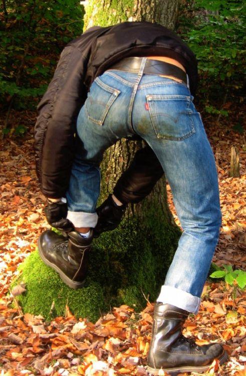 Gay Soldiers | Levis on Men | Jeans, boots, Denim, Jeans