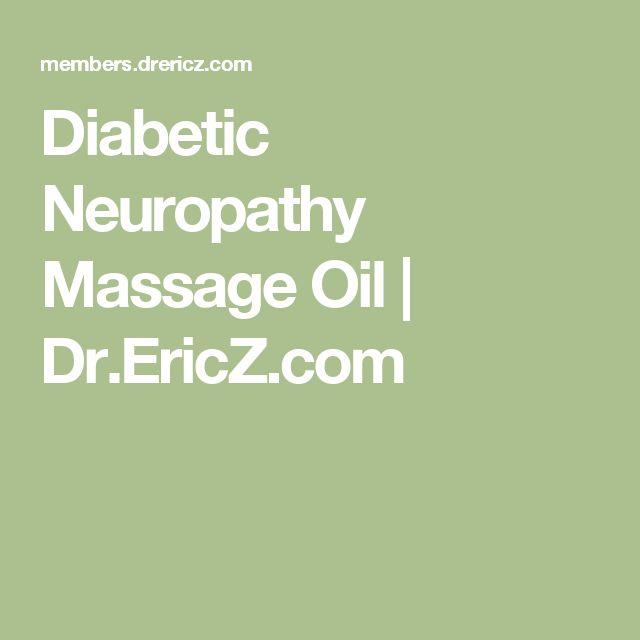 Diabetic Neuropathy Massage Oil   Dr.EricZ.com