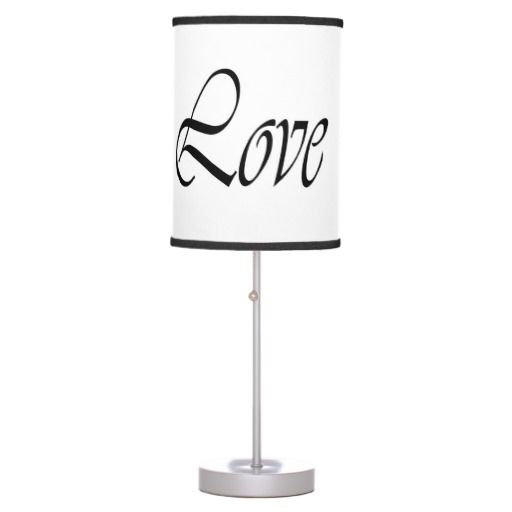 Light of Love, Black on White Lamp. Lifestyle by Nicole Kafi.  Dream in Color.  Live in Style.