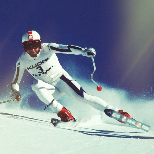 Franz Klammer. One of the all-time greats of Alpine Skiing.