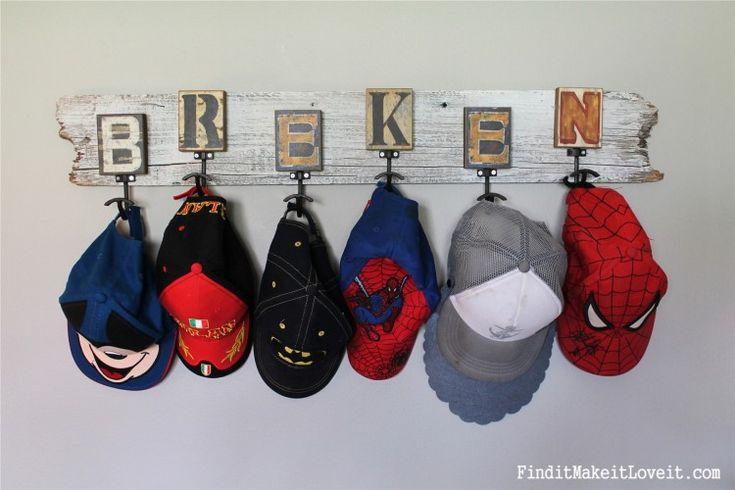 best 25  baseball hat racks ideas on pinterest