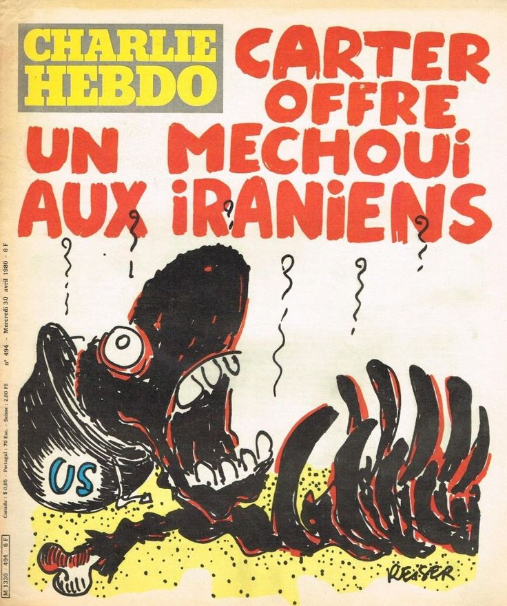 Charlie Hebdo - # 494 - 30 Avril 1980 - Couverture : Reiser