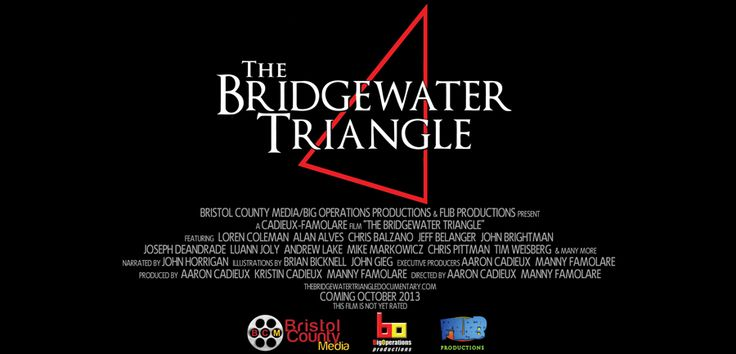 """The Bridgewater Triangle // In 1983, Cryptozoologist Loren Coleman published his book, """"Mysterious America"""". In it, he described a 200 square-mile area in Southeastern Massachusetts with a long history of strange, paranormal, and sometimes, sinister activity. He called the region """"The Bridgewater Triangle"""".."""