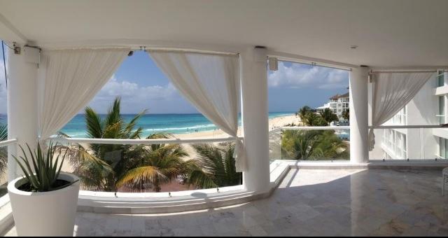 Playacar Palace Hotel in Playa del Carmen Wedding Terrace.
