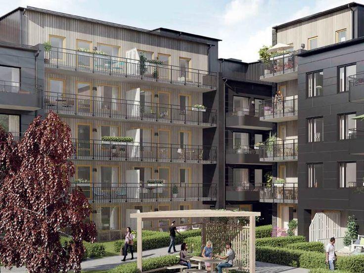 Bellevueplan is a housing project designed by Lindberg Stenberg Arkitekter.