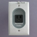 Recessed Outlets, Inset Receptacles, HDMI, Cat 6, Cable Jacks