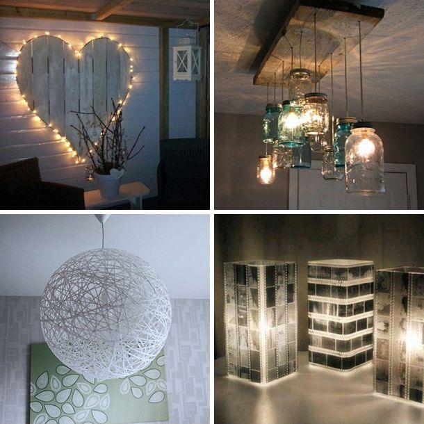 Lampen worden al snel alleen functioneel gebruikt. Dit terwijl er zo veel leuke en unieke lampen te koop zijn. Het is ook makkelijk om je eigen lampenkap te maken om zo altijd een uniek exemplaar in huis te hebben. Laat je inspireren en maak zelf een lamp met deze makkelijke doe-het-zelf ideeën!