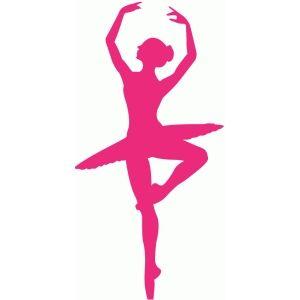 Silhouette Design Store - View Design #60767: ballerina