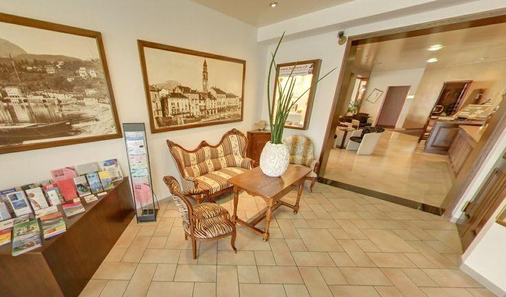 Reception view Hotel Mulino Ascona