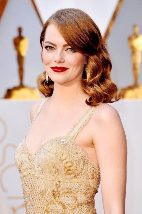 Oscar 2017: Las mejor vestidas de la alfombra roja. Emma Stone de Givenchy
