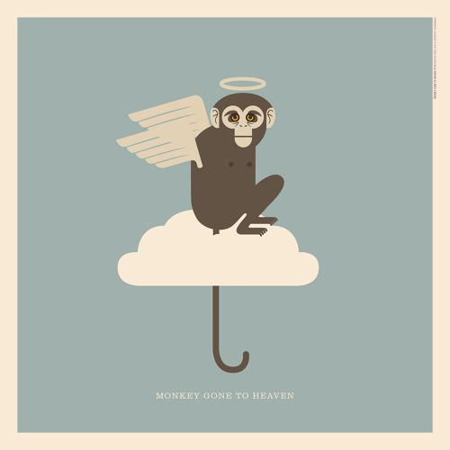 """Pixies' """"Monkey Gone to Heaven""""   An Illustrated Guide To Every Animal In Rock Music   Co.Design   business + design"""