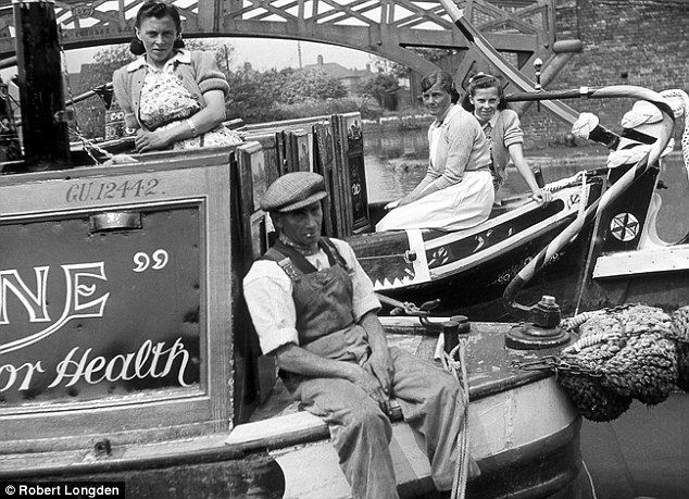 Working life: The Oxford canal was the main coal supply route from Wyken Colliery and pit heads in the area