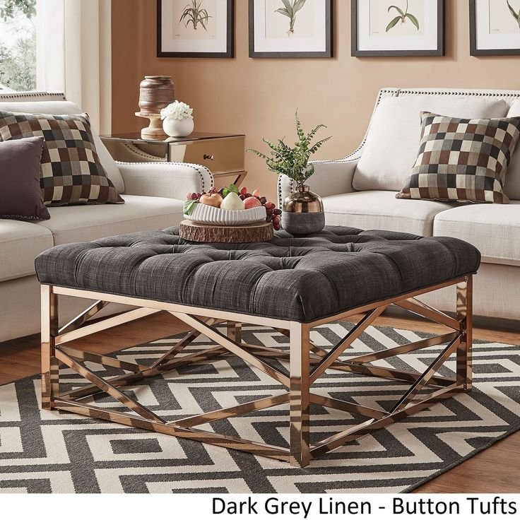 Best 20 Ottoman Coffee Tables Ideas On Pinterest Tufted Ottoman Coffee Table Ottomans And Wicker Storage Baskets