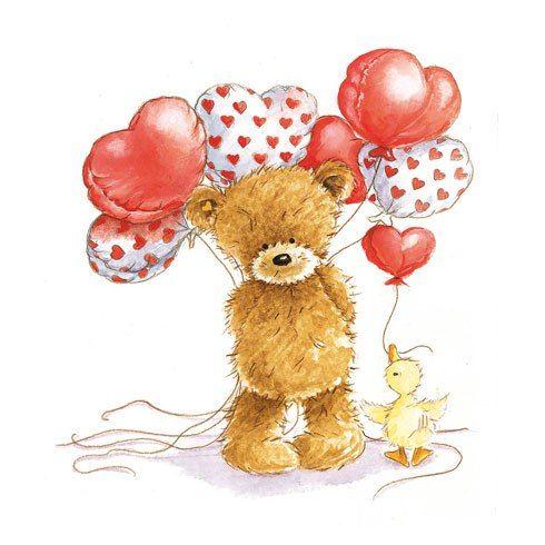 картинки с днем рождения мишка с шариками презентации имеет