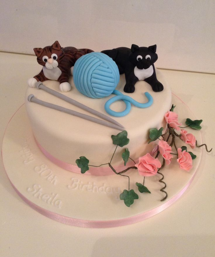 187 Best Ideas About Knitting Theme Cakes And Other Edible